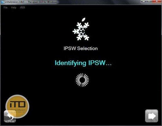 sn0wbreeze 2.8b5 for iOS 5 b5 4wtmk