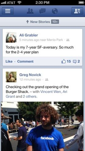 Facebook App for iOS and Android Updated with Sharing, Emoticons Support and Improved Friends Tagging