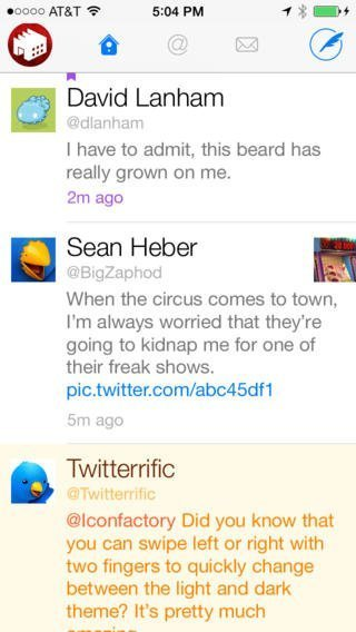 Twitterrific 5 For iOS Updates With New Profile Layouts Gestures And More 2