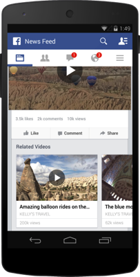 Facebook Adding New Features to Videos Including View Counts
