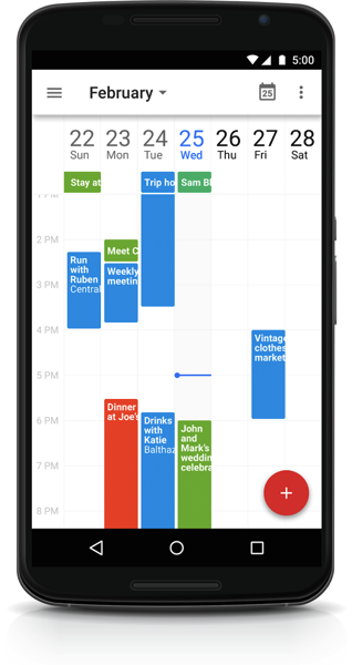 Google Calendar For Android Updated With New Improvements
