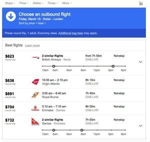 Google Launched New Website For Easy Flight Searching And Booking 1