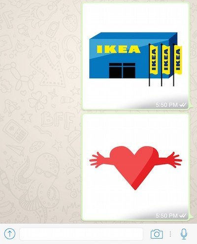 IKEA Emoticons Keyboard for iOS 8 Is A Cool App To Express Yourself 3