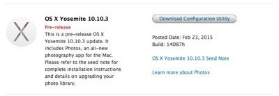 OS X 10.10.3 Release Updated With Photos App Changes and Emojis