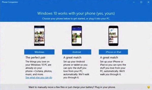 Cortana for iOS and Android and Phone Companion App for Windows 10 Announced