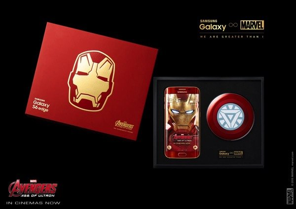 Iron Man Edition Samsung Galaxy S6 Edge Is The Coolest Android Phone I Want 2