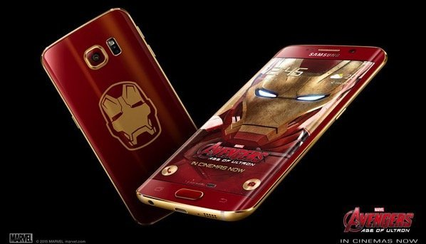 Iron Man Edition Samsung Galaxy S6 Edge Is The Coolest Android Phone I Want