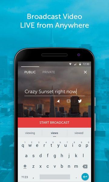 Periscope for Android App Launches in Play Store