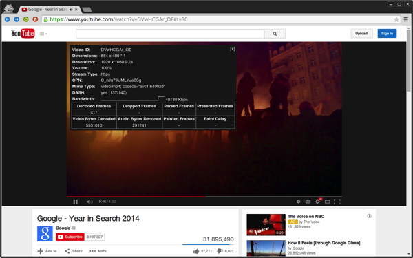 H264ify for Chrome Enables H 264 Video Streaming on YouTube For Reduced CPU Usage