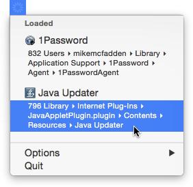 IOS Like Internet Loading Indicator App For Mac OS X 1
