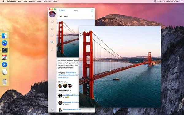 Instagram Mac App Photoflow 2