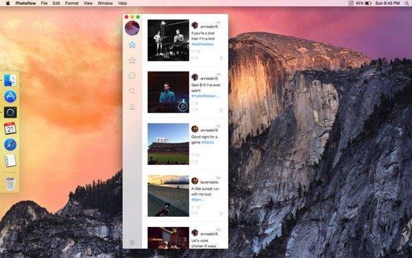 Instagram Mac App Photoflow 3