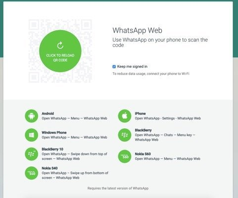 WhatsApp Web for iPhone Available For Some Users