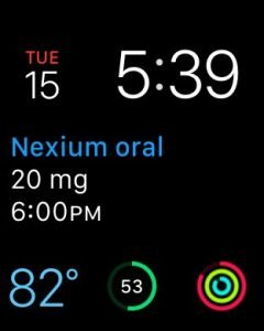 webmd WatchOS 2 app with complications