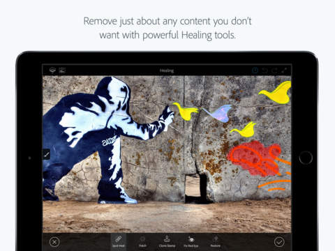 Adobe Photoshop Fix comes to iOS with amazing free features 1