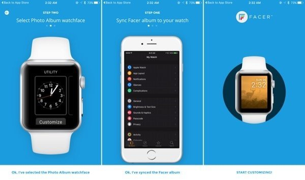 Facer for iPhone lets you customize Apple Watch faces
