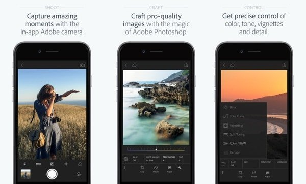 Lightroom fo iOS gets 3D Touch, Full resolution output and more