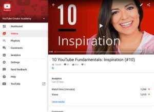 YouTube Creator Studio update for iOS lets you watch your videos in the app