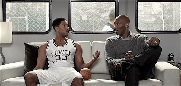 New Apple TV ads titled Father Time feature Kobe Bryant and Michael B. Jordan