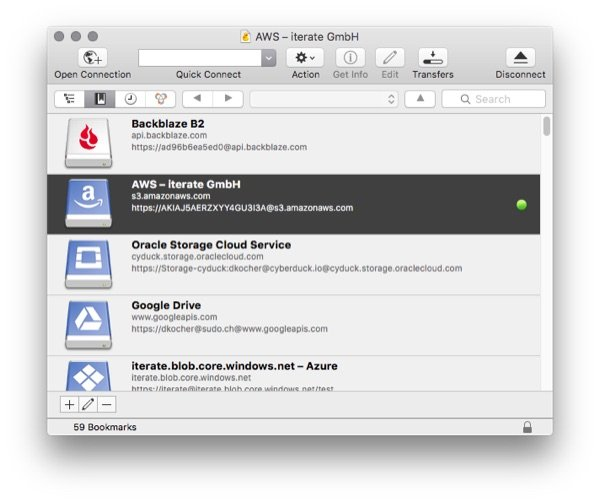Cyberduck 5 out now for OS X and Windows with updated UI and Google Drive support