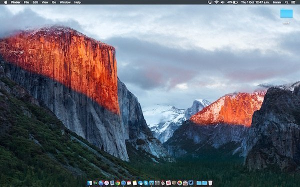 OS X 10.11.5 released with bug fixes and performance improvements