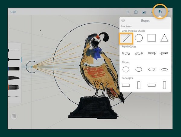 Adobe photoshop sketch 3 4 offers 3 d touch and layers support for ios