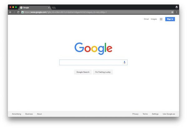 Enable translucency in Google Chrome's title bar on OS X with this flag 1