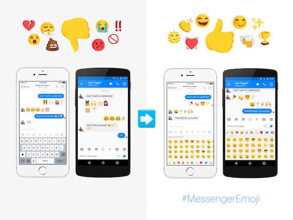Facebook adds 1500 new Emojis to Messenger