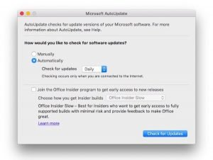 Office for Mac bug and security fixes (MS16-070) update rolls out