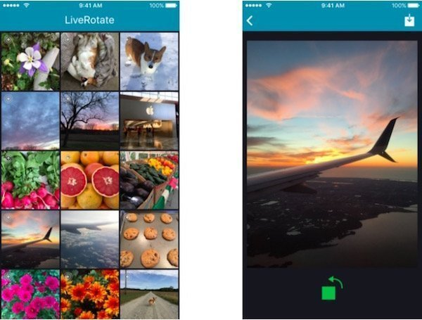 Rotate Live Photos on iPhone with LiveRotate App