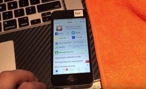 iOS 10 jailbreak on iPhone