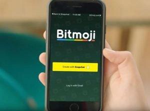 Bitmoji on Snapchat