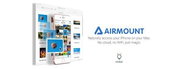 AirMount lets you transfer files between Mac and iOS devices, like AirDrop