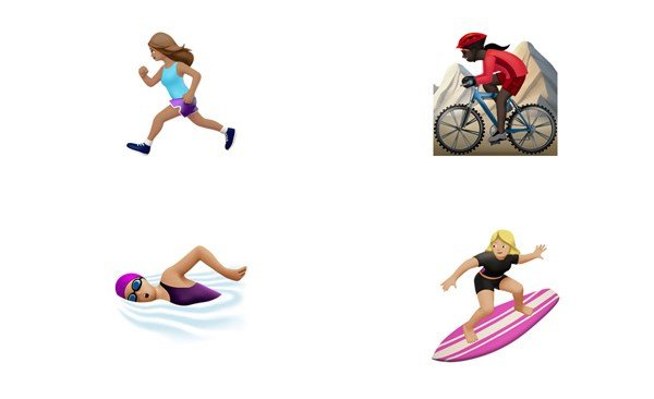 iOS 10 gender diverse emojis