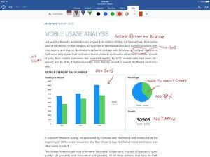 Microsoft Office apps updated to support drawing on iPhone