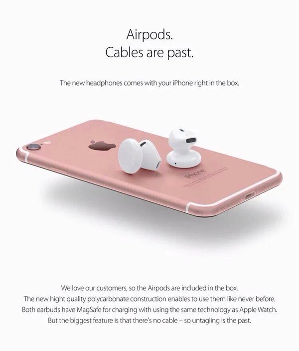 AirPods will not ship with iPhone 7, will cost more than Beats headphones - Report