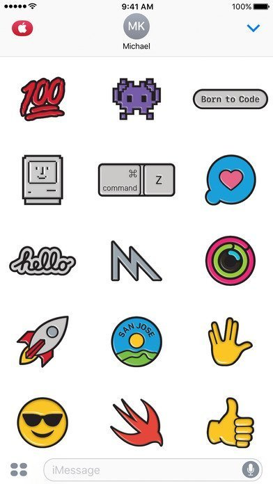 WWDC iMessage stickers