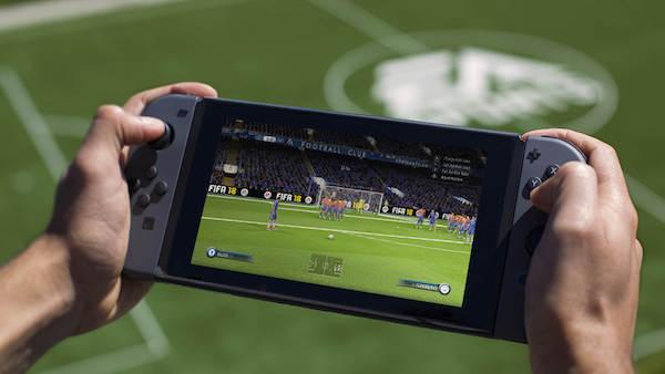 FIFA 18 on Nintendo Switch