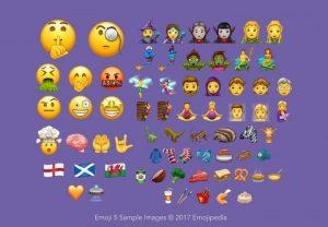 Unicode 10 emoji-5-sample-images-overview-emojipedia-2017
