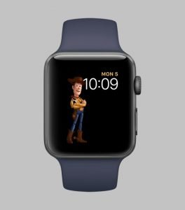 watchOS 4 faces toy story