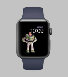 watchOS 4 faces toy story buzz
