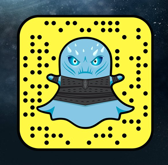 Game of Thrones snapcode