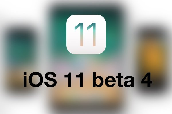 iOS 11 beta 4 is now available for developers