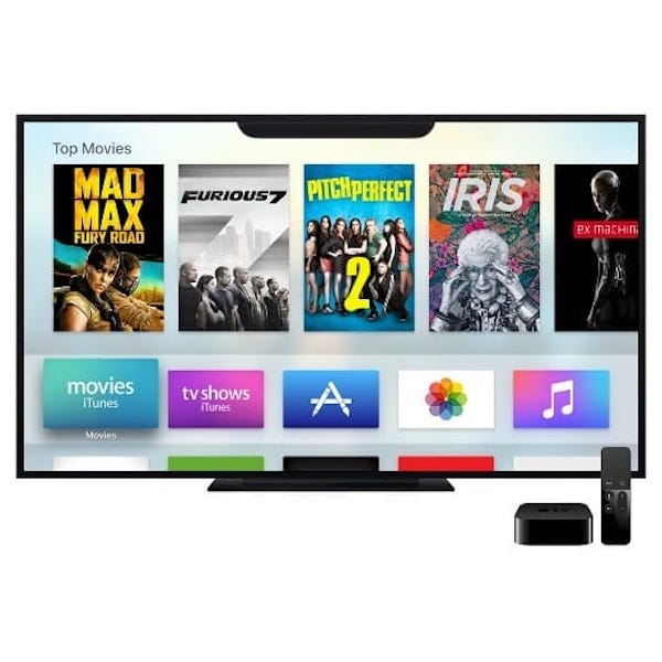 Apple TV with notch