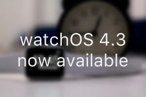 watchOS 4.3 now available with smarter Siri watchface, new charging animation, iPhone music controls and more