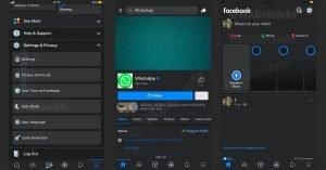 Facebook Dark Mode iOS