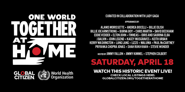 One World Together At Home Virtual Concert