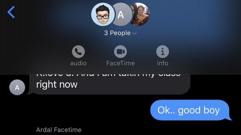 group call iOS