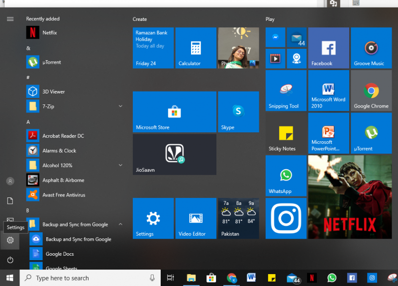 Windows 10 notifications 1