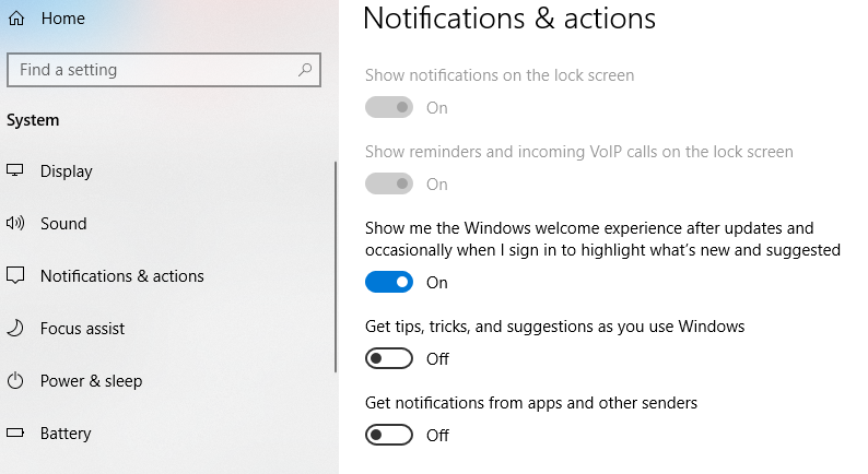 Windows 10 notifications 4